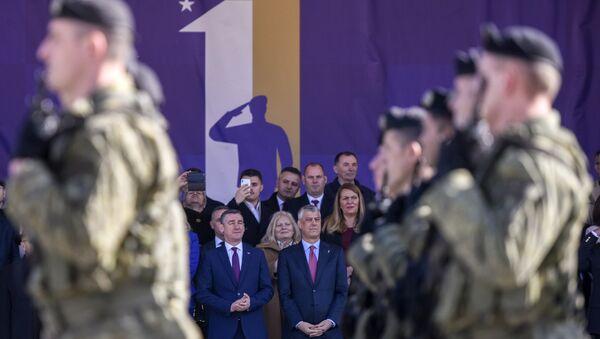 Hašim Tači i Kadri Veselji - Sputnik Srbija