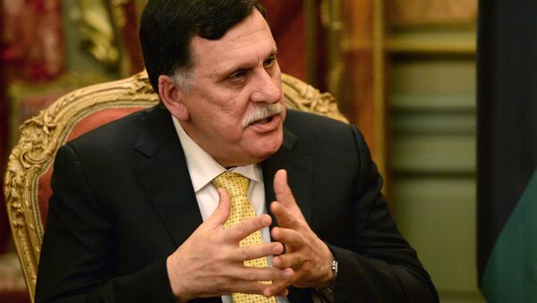 Премијер Либије Фајез Сараџ  - Sputnik Србија