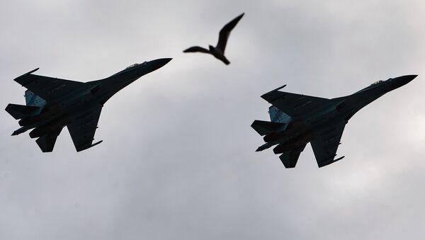 Самолеты-перехватчики Су-27  - Sputnik Србија