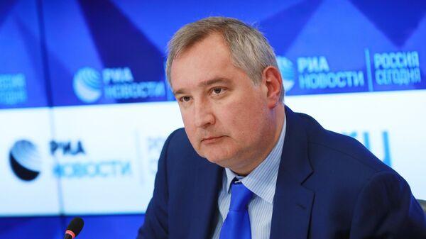 Генерални директор Роскосмоса Дмитриј Рогозин - Sputnik Србија