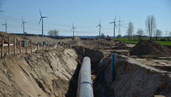 Изградња гасовода Северни ток 2 у Немачкој - Sputnik Србија