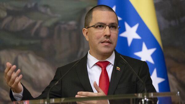 Министар спољних послова Венецуеле Хорхе Ареаса на конференцији за медије у Москви - Sputnik Србија
