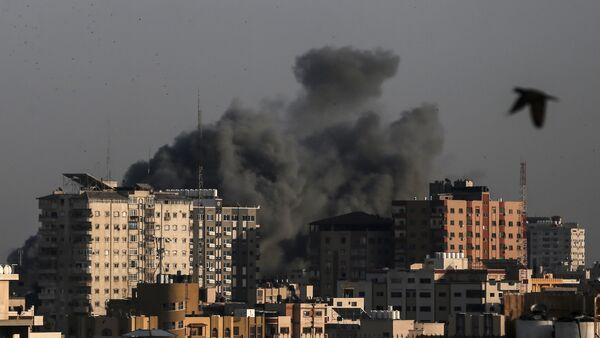 Израелски напади у Гази. - Sputnik Србија