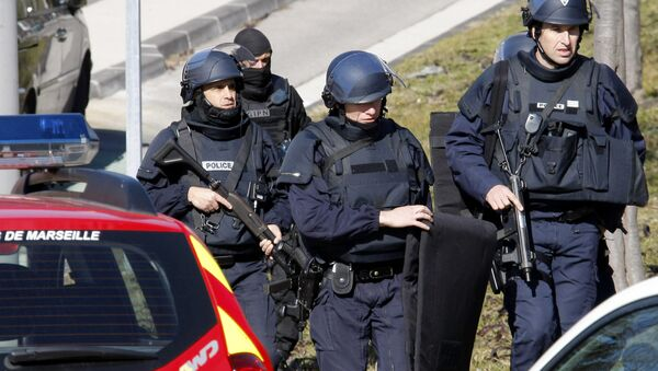 Француска полиција - Sputnik Србија