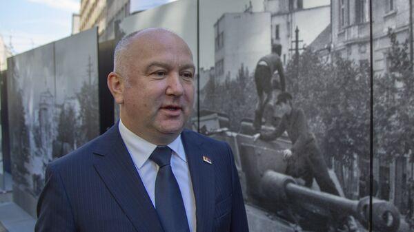 Ministar za inovacije i tehnološki razvoj Nenad Popović - Sputnik Srbija