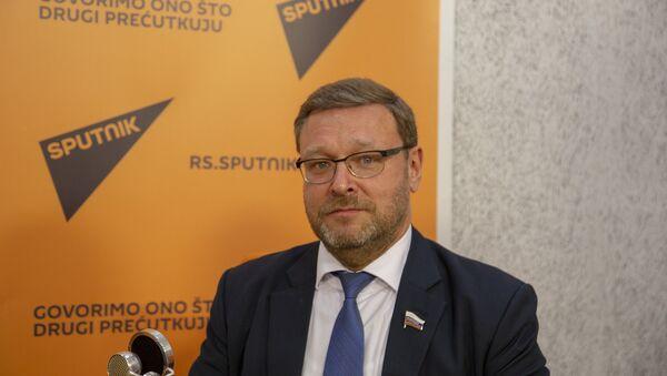Predsednik Odbora za spoljnu politiku Saveta Federacije Rusije Konstantin Kosačov - Sputnik Srbija