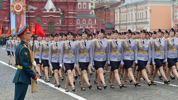 Парада поводом Дана победе над фашизмом на Црвеном тргу у Москви - Sputnik Србија