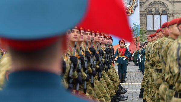 Parada povodom Dana pobede nad fašizmom na Crvenom trgu u Moskvi - Sputnik Srbija