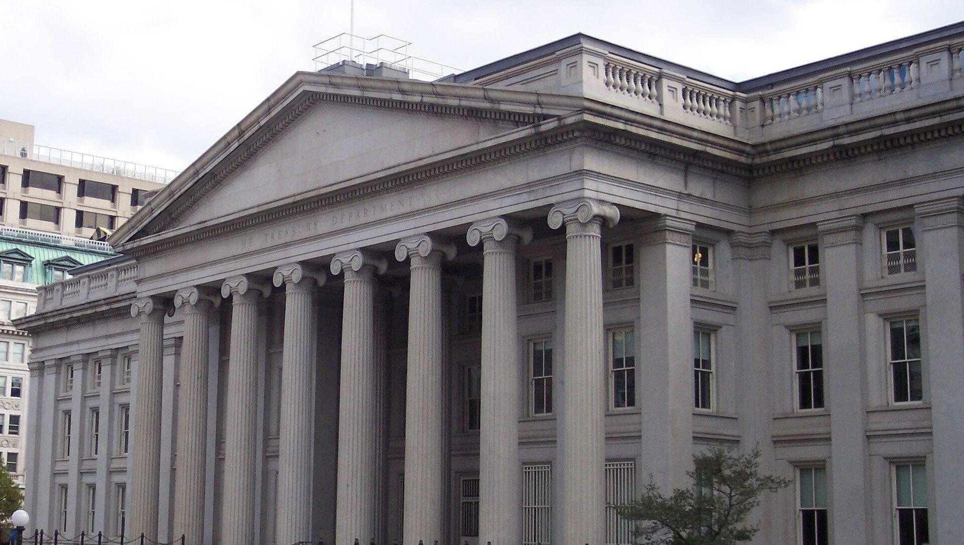Зграда Министарства финансија САД - Sputnik Србија, 1920, 09.07.2021
