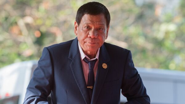 Председник Филипина Родриго Дутерте - Sputnik Србија