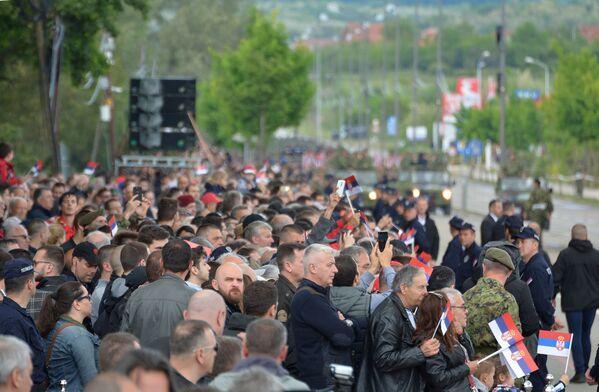 Војна парада у Нишу - Sputnik Србија