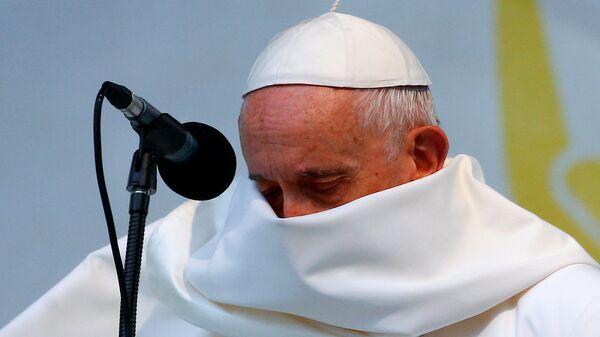 Папа Фрања у Софији. - Sputnik Србија
