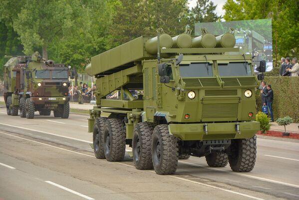 Ракетни систем Шумадија на војној паради у Нишу - Sputnik Србија