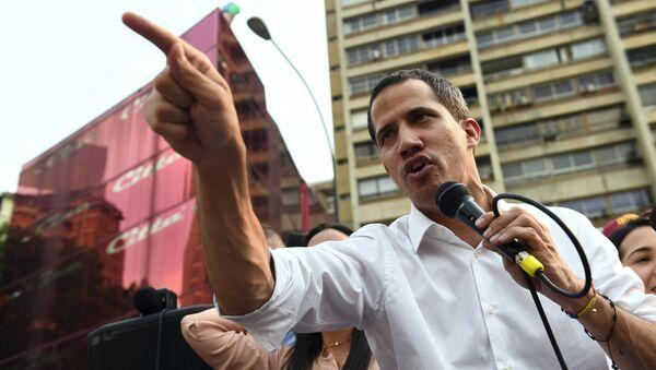 Лидер опозиције и председник Парламента Венецуеле Хуан Гваидо - Sputnik Србија