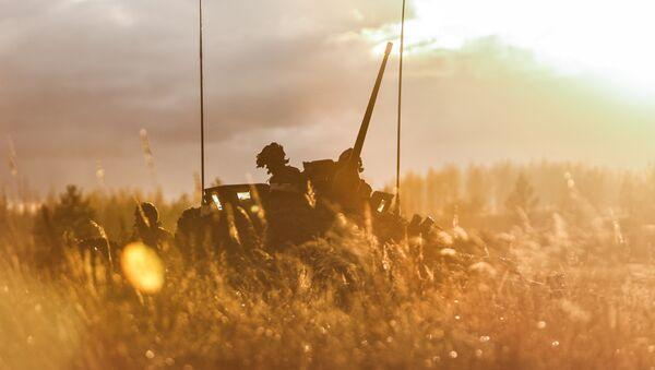 Војници на Mеђународној војној вежби на полигону Адажу у Летонији - Sputnik Србија