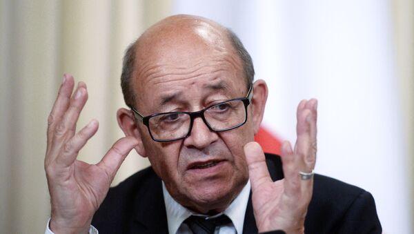 Министар спољних послова Француске Жан-Ив ле Дријан - Sputnik Србија