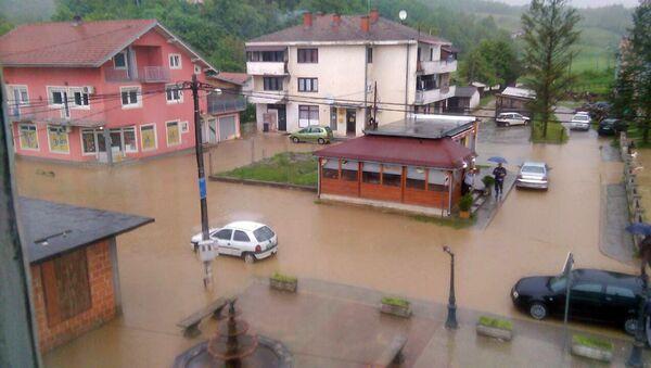 Poplavljeni Novi Grad u Republici Srpskoj - Sputnik Srbija