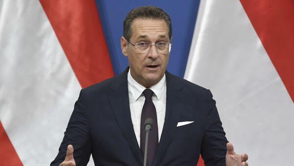 Vicekancelar Austrije Hajnc-Kristijan Štrahe - Sputnik Srbija