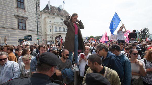 Protest u Beču - Sputnik Srbija