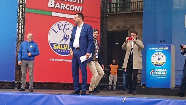 Miting Matea Salvinija u Milanu - Sputnik Srbija