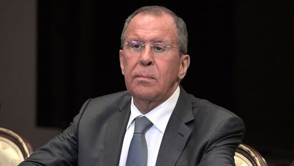 Ministar spoljnih poslova Rusije Sergej Lavrov - Sputnik Srbija
