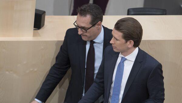 Hajnc Štrahe i Sebastijan Kurc - Sputnik Srbija