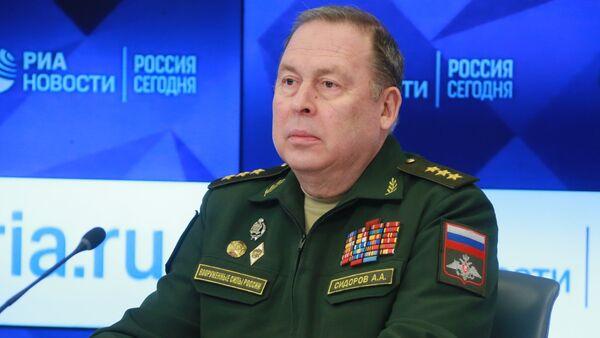 Начелник Уједињеног штаба Организације Договора за колективну безбедност Анатолиј Сидоров - Sputnik Србија