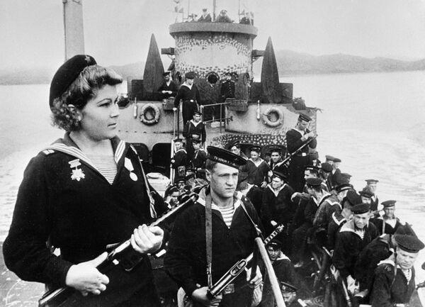 На мору и копну: Историја руске Пацифичке флоте - Sputnik Србија