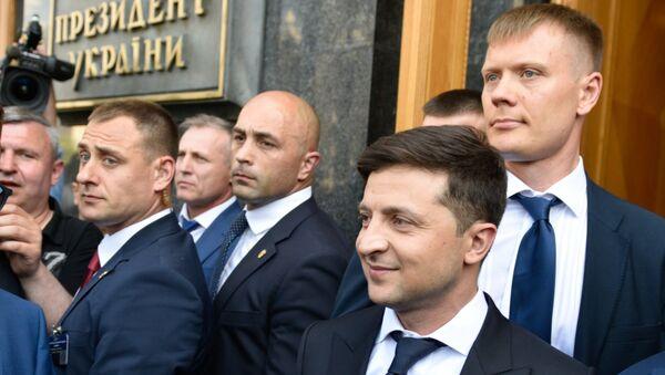 Predsednik Ukrajine Vladimir Zelenski - Sputnik Srbija