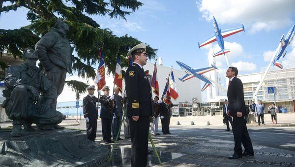 Obeležavanje 70. godišnjice iskrcavanja saveznika u Normandiji - Sputnik Srbija