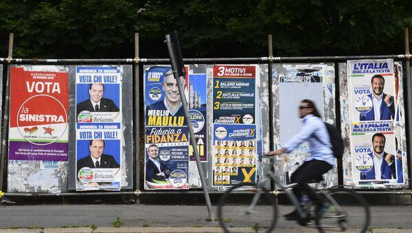 Milano u znaku izbora za Evropski parlament - Sputnik Srbija