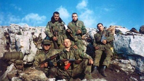 Borci 549. motorizovane brigade na Paštriku - Sputnik Srbija