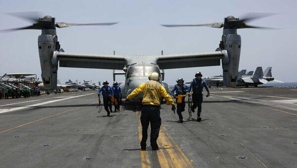 Америчка војска у Арабијском мору, на путу према Персијском заливу - Sputnik Србија