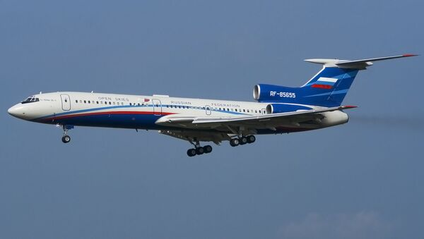 Ruski posmatrački avion Tu-154M LK-1 - Sputnik Srbija