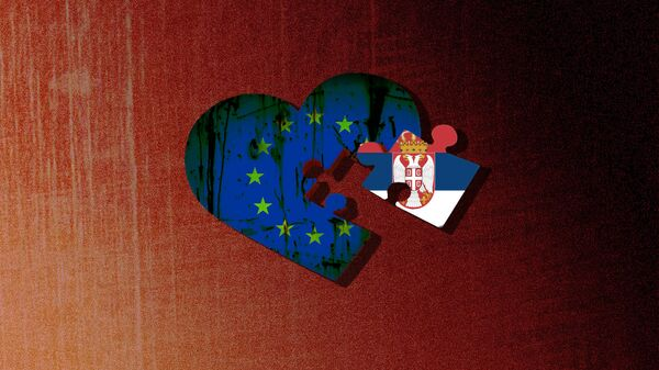 EU i Srbija - ilustracija - Sputnik Srbija