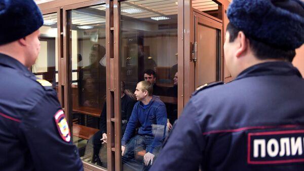 Ухапшени украјински морнари током судског процеса - Sputnik Србија