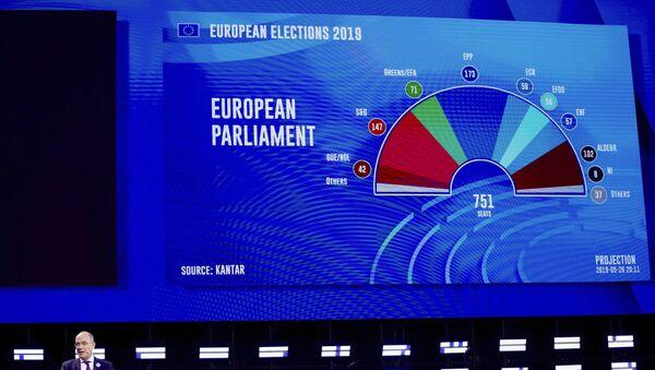 Резултати избора за Европски парламент - Sputnik Србија