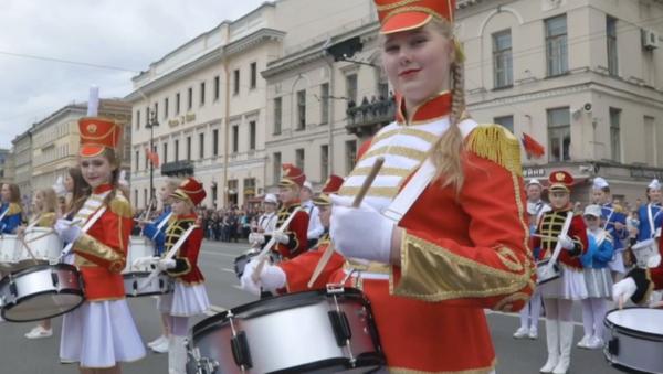 Санкт Петербург - бубњари - Sputnik Србија
