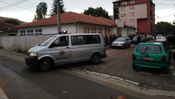 Vozila kosovske policije u Kosovskoj Mitrovici - Sputnik Srbija