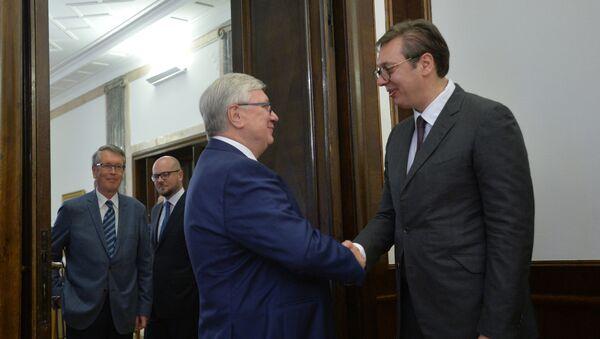 Aleksandar Vučlić i Anatolij Torkunov - Sputnik Srbija