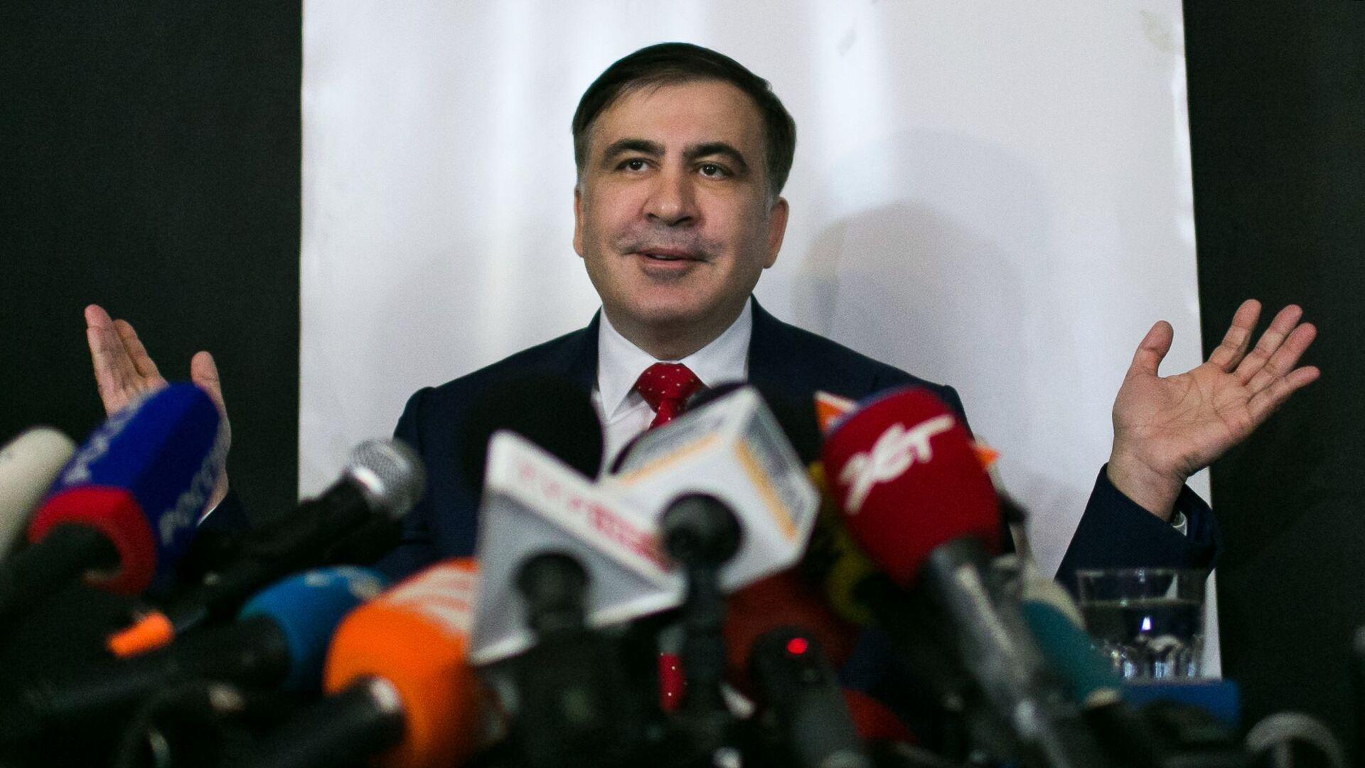 Bivši predsednik Gruzije Mihail Sakašvili - Sputnik Srbija, 1920, 01.10.2021