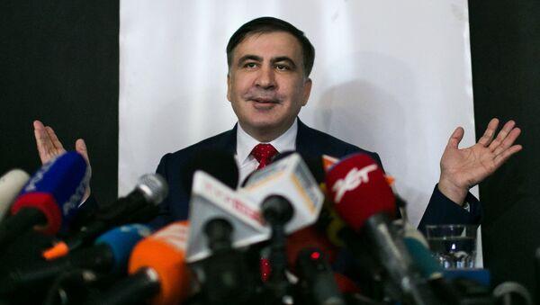 Бивши председник Грузије Михаил Сакашвили - Sputnik Србија