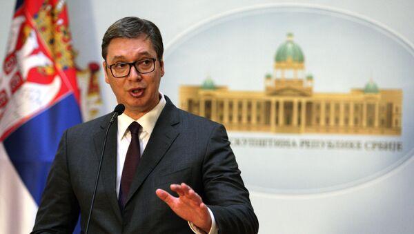 Predsednik Srbije Aleksandar Vučić - Sputnik Srbija