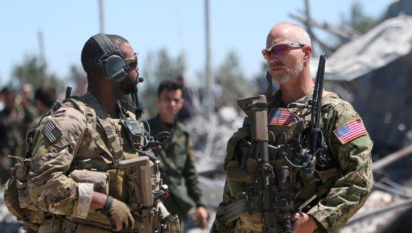 Амерички војници у Сирији - Sputnik Србија
