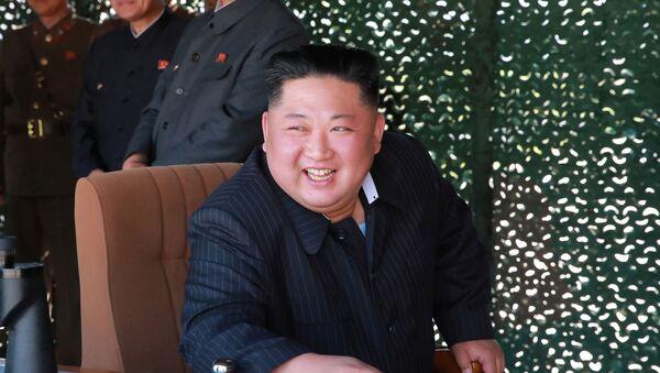 Severnokorejski lider Kim Džong Un - Sputnik Srbija