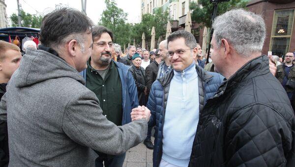 Lideri protesta Jedan od pet miliona - Sputnik Srbija