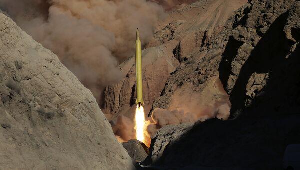 Иранска балистичка ракета - Sputnik Србија