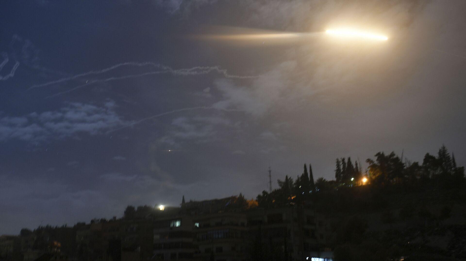 Израелско ракетирање Сирије - Sputnik Србија, 1920, 07.09.2021