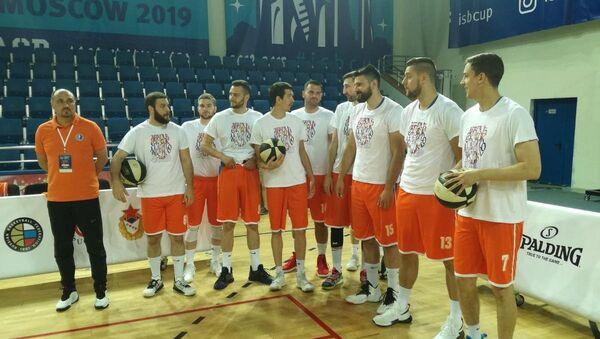 Košarkaši Univerziteta u Nišu - Sputnik Srbija
