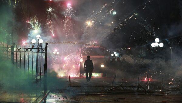 Demonstracije u Tirani - Sputnik Srbija